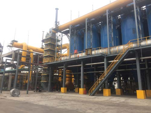 Chiping alumina recycling fluidized bed gas generator application engineering case