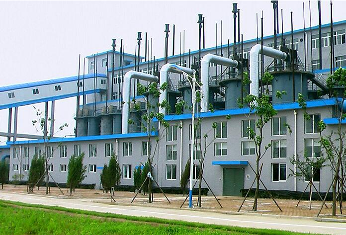 Two - stage gas generator cooling station quality project