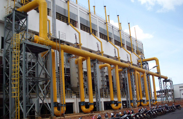 Vietnam Lintong alumina industry two - stage gas generator gas station